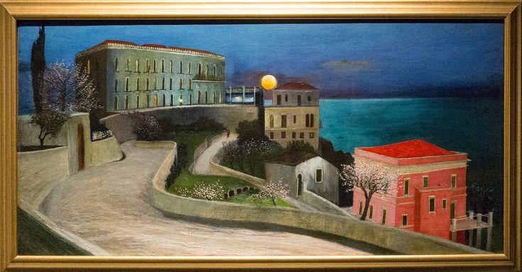 Vollmond über Taormina (1901)