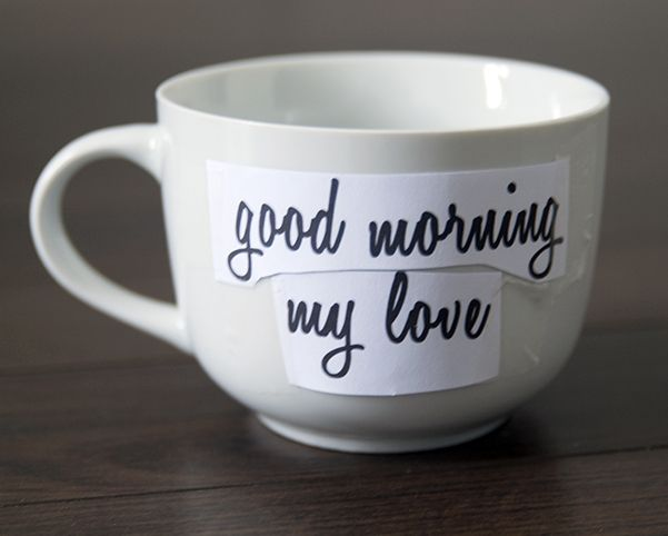 Design Your Own Mug: Design Your Own Mug - Step 1