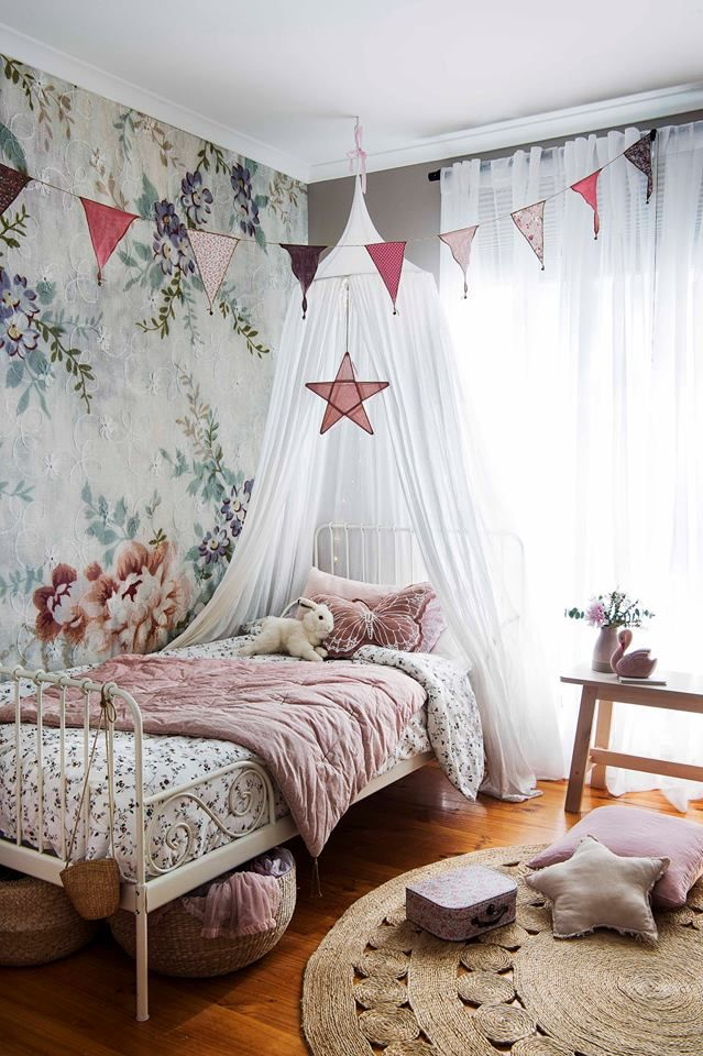 Pin By A B Interiors On Children S Bedrooms Kids Bedroom Decor Vintage Kids Room Bedroom Vintage