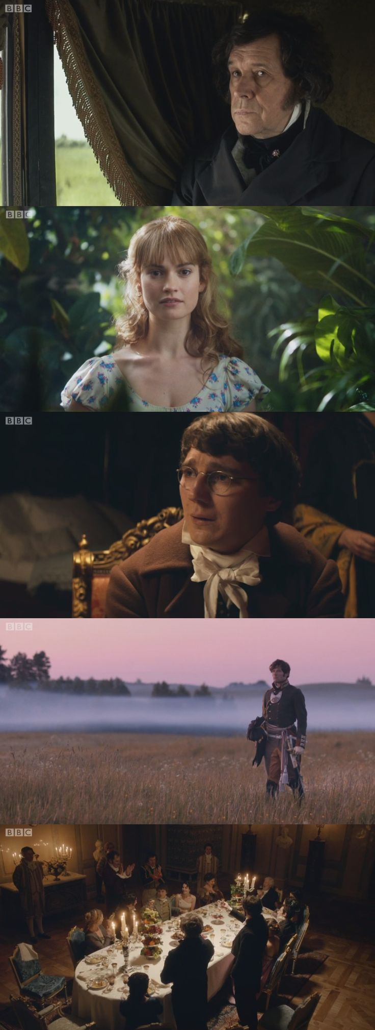 War and Peace (BBC, 2016) - Stephen Rea, Lily James, Paul Dano, James Norton