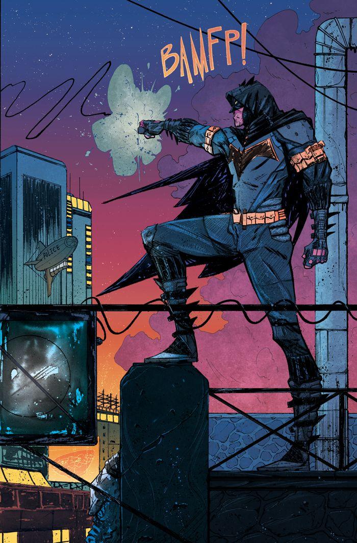 Batman - Ricardo Lopez Ortiz, Colors: Chris O'Halloran