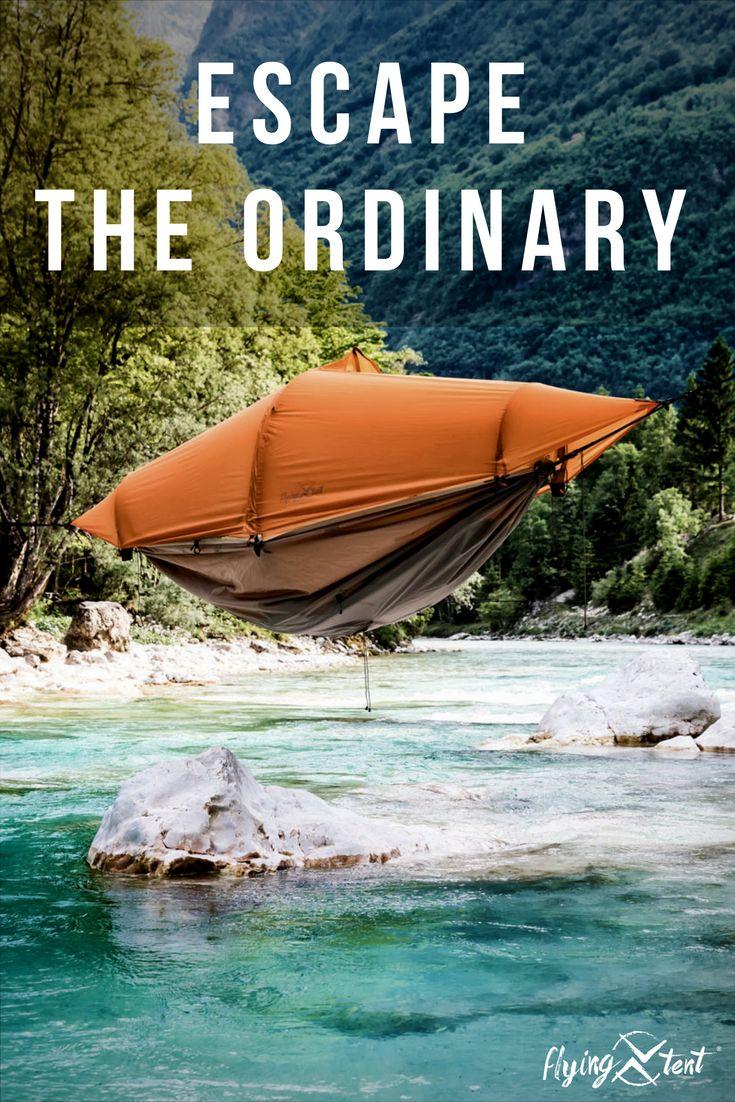 flying tent - designed for adventure