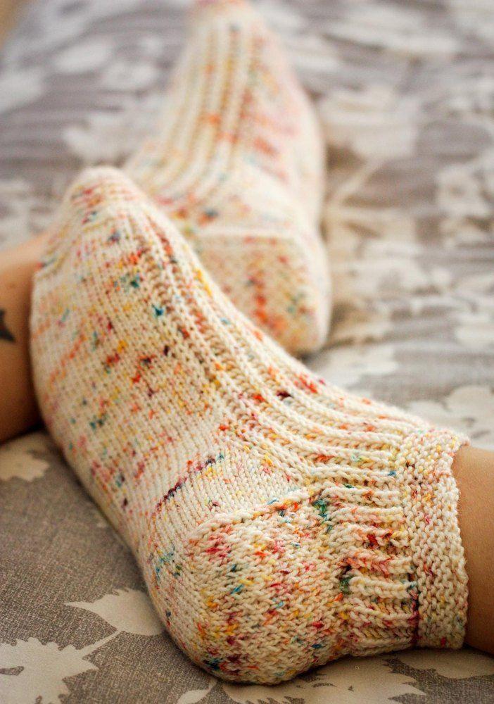 Calentito Socks Strickmuster von Kristen Jancuk