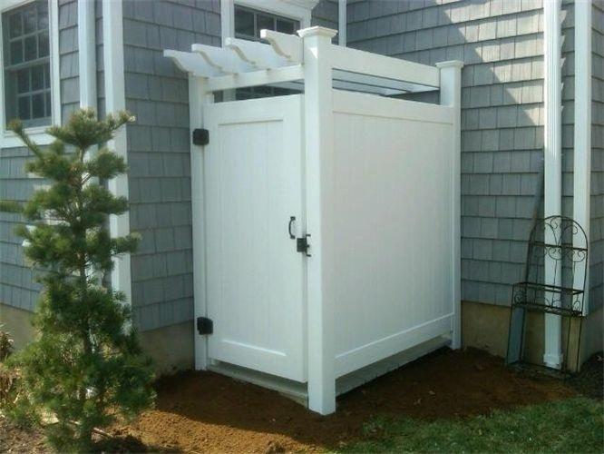 17 Images About Outdoor Shower On Pinterest Corner Unit