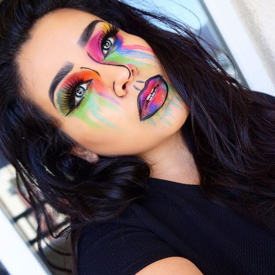 18 Perfect Diy Snapchat Filter Makeup And Costume Tutorials For Halloween