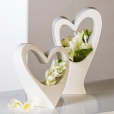 Váza porcelánová Love, 22 cm - 1