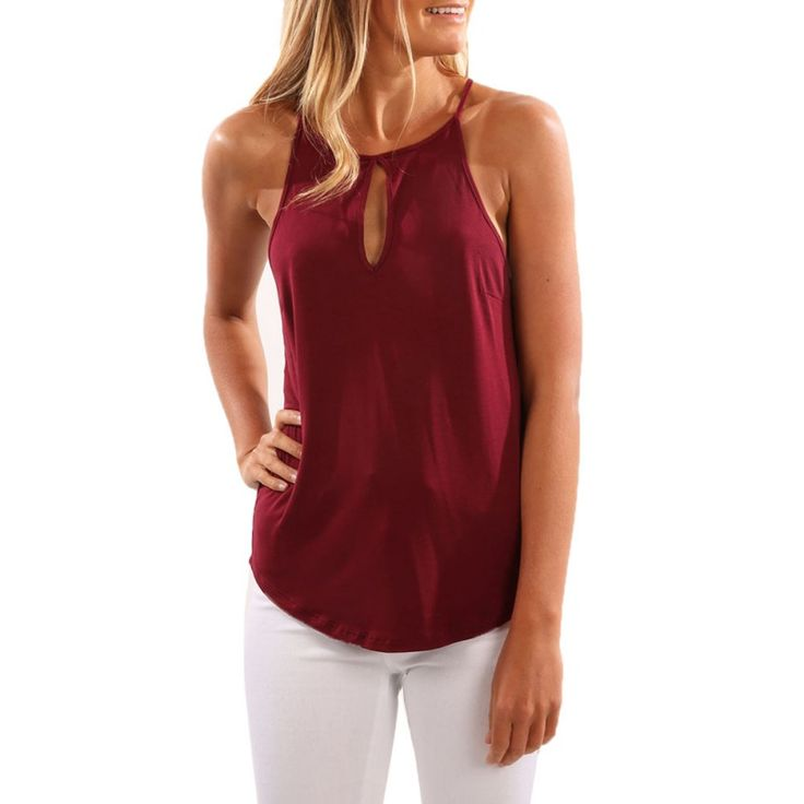 Liva girl Women Tank Tops Sleeveless Camisole Vest Sexy #jewelry, #women, #men, #hats, #watches, #belts, #fashion