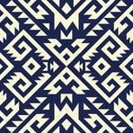 tribal Navajo vector seamless pattern. aztec fancy abstract geometric art print. ethnic hipster backdrop. Wallpaper, cloth design, fabric, paper, cover, textile design template.