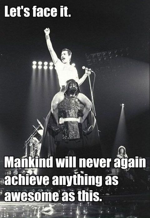 Mankind will never again achieve anything as awesome as Darth Vader and Freddie Mercury.  For more, visit -   Facebook Page:  https://www.facebook.com/TheEastSideStory  Twitter Handle (@TESSfilmfest)  Website: www.tessfilmfest.in