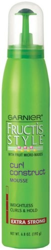 Garnier Fructis Style Curl Construct Mousse, is what I think the best mousse for curly hair.
