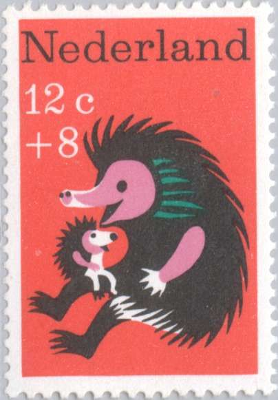 Postage Nederlands ~ hedgehog