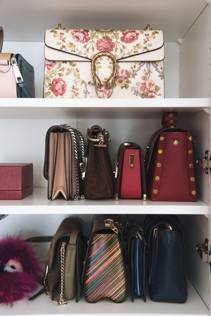Lovely Shoe and bag closet walk in closet designer bags More on fashiioncarpet