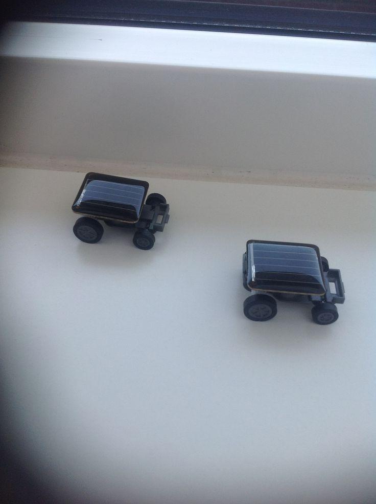 Autootjes op zonne-energie
