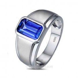 Cincin Perak Gido Blue Sapphire Cincin Perak Pria Gido merupakan cincin berbahan perak berkualitas 925, dengan model simple, berhiaskan sebuah batu blue sapphire kotak. Finishing akhir kombinasi doff dan gilap, serta dilapis dengan rhodium/emas putih  Detail http://dodolperak.com/cincin-perak/cincin-perak-gido-blue-sapphire.html