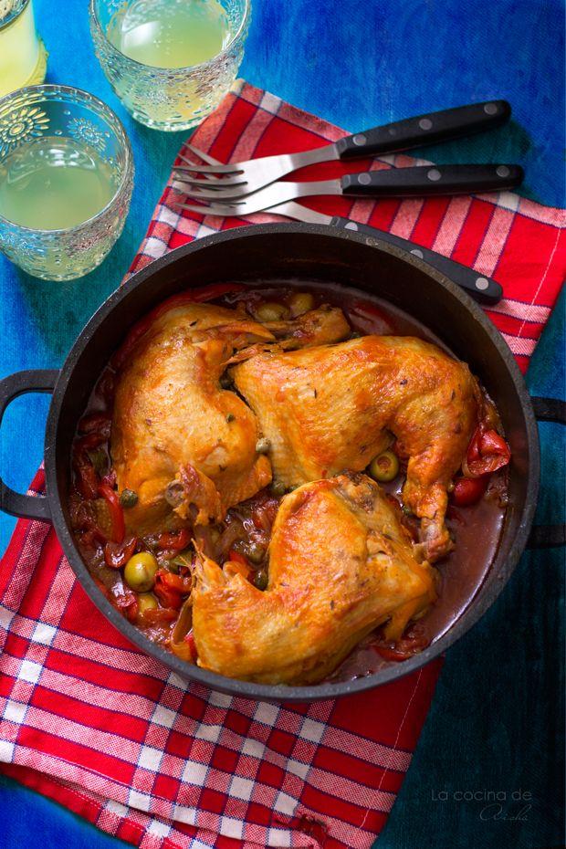 Pollo a la mediterránea #JamieOliver - Cooking the Chef