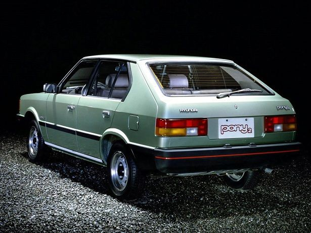 Hyundai Pony Hatchback (1980 – 1982).