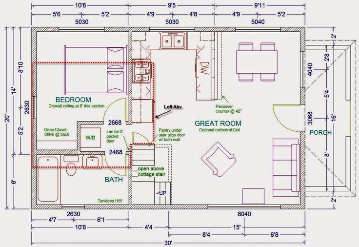 House Plan | I Just Love Tiny Houses!