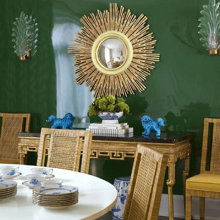 Home Interiordecoration: Fein Zalkin Interiors On Instagram: A Statement Mirror Is