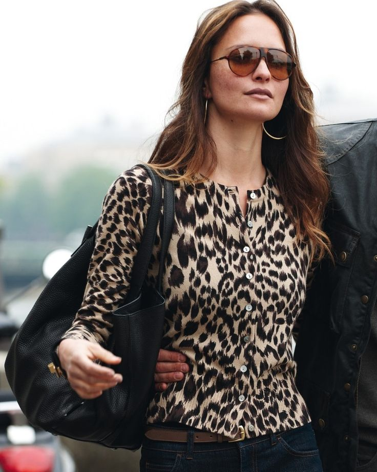 article about animal print on women over 50