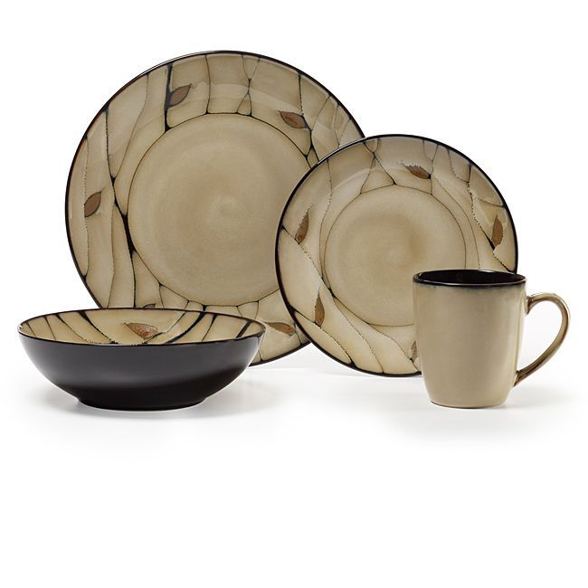 Pfaltzgraff Everyday Briar 16-piece Dinnerware Set