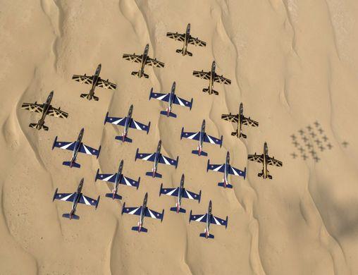 Azzurro Tricolore: Frecce Tricolori a Dubai: all'airshow i gioielli del made in…