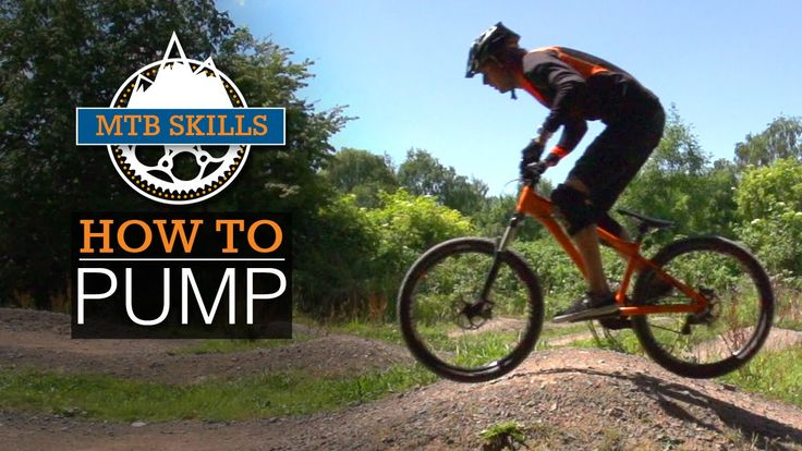How To Pump - MTB Skills