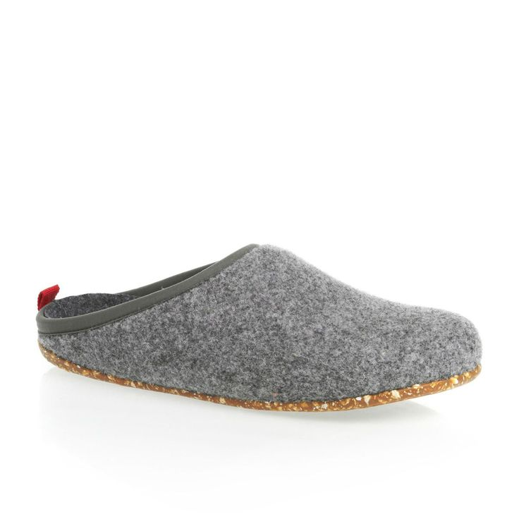 Camper Slippers – Camper Wabi Womens Slippers – Grey Marl