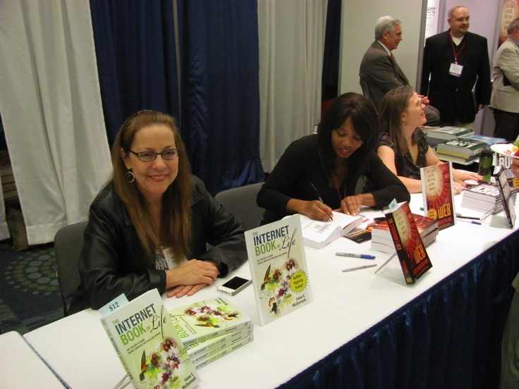 As always, the CIL exhibit hall was very popular. At the opening night reception, ITI authors were signing their books for attendees.