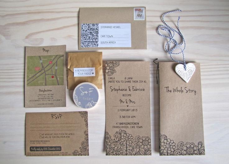 Farm Style Wedding Invitations: Confetti Workshop: WEDDING: Modern Farm Style Invite Suite