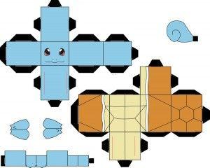 pokemon papercraft templates easy