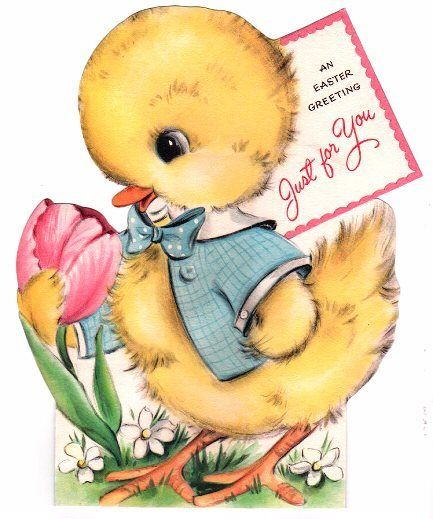 Just For You ... Cute Easter Card