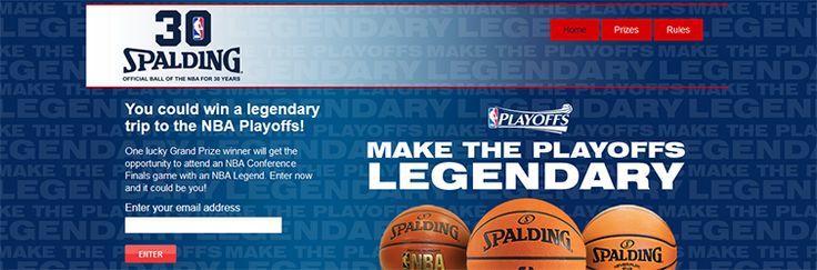 Make the Playoffs Legendary Sweepstakes