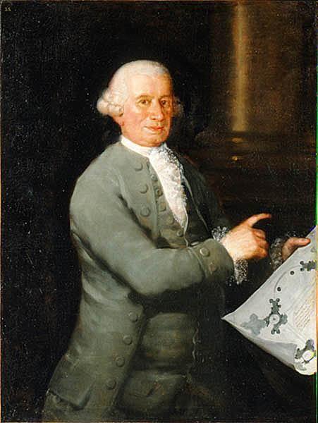 Retrato de Ventura Rodriguez (arquitecto), 1784