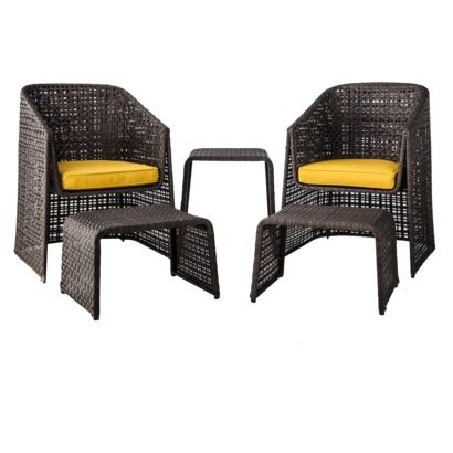threshold ordway wicker patio conversation furniture collection. beautiful ideas. Home Design Ideas