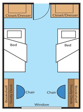 Typical Room Design. (Except Ing SFS And Ames Halls) Click On The Picture Part 98