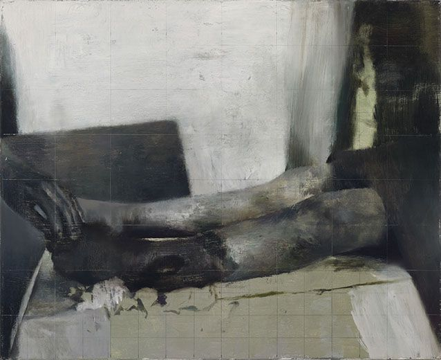 'Guest', 2010, oil on canvas, 65 x 80 cm