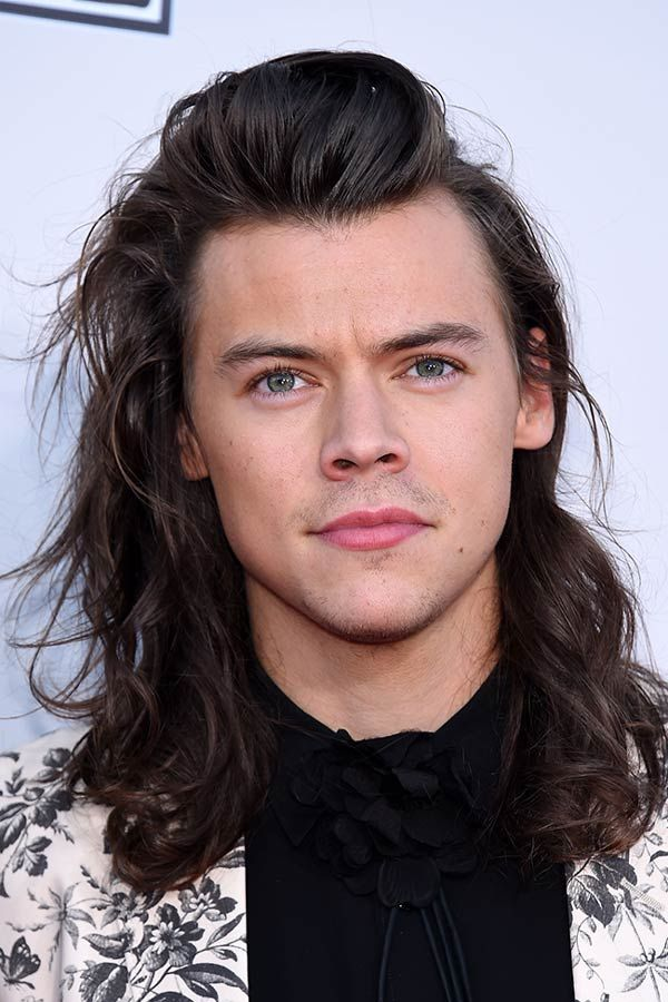 The Exclusive Compilation Of Long Hair Men Celebrity Styles Harry Styles Hair Harry Styles Haircut Long Hair Styles Men
