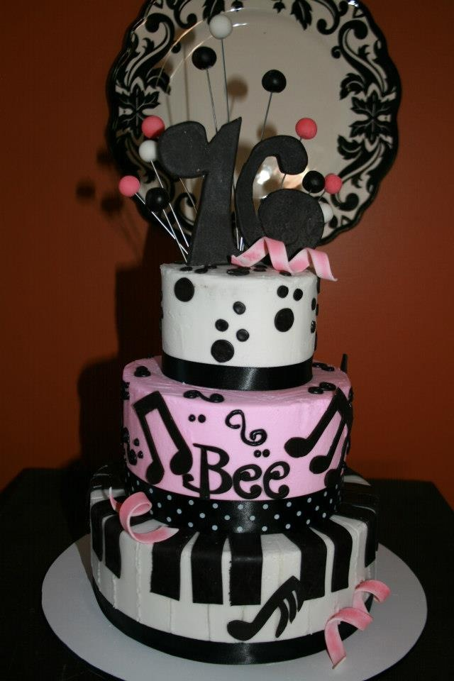 Pictures Of Two Layer Birthday Cakes