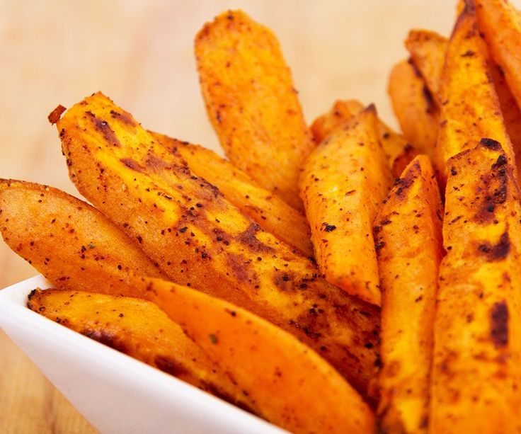 Best sweet potato fries recipe - I also soaked the sweet potato wedges all day in water, cook at 440 degrees, and  check and flipped every ten minutes, 35-40 minutes.