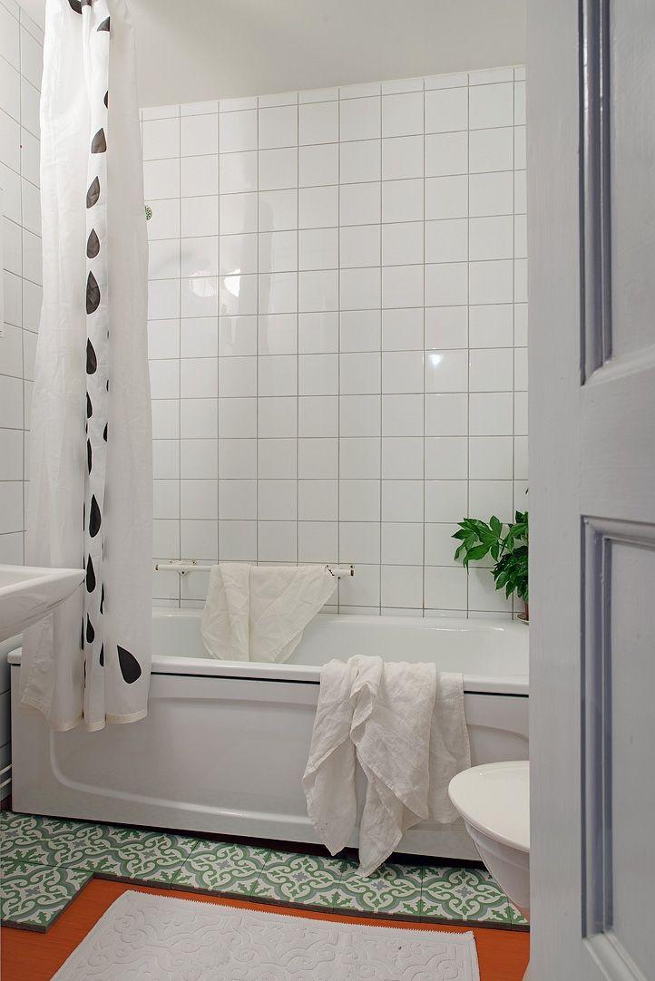 Varför inte lägga in marrakechklinker i badrummet?