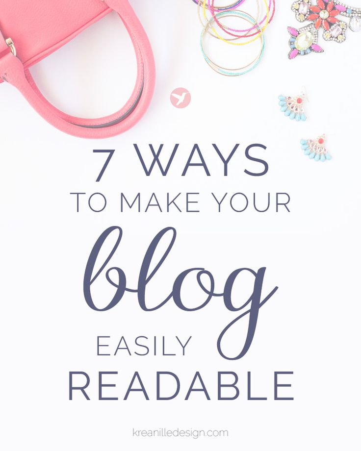 7 easy tips to achieve a clean look on your blog that sticks your reader to the screen. Click to read and pin for later!