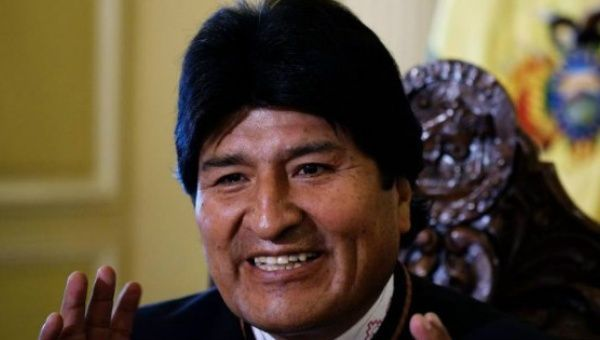 Bolivia's Evo Morales Slams 'Cancer of Capitalism' on Earth Day