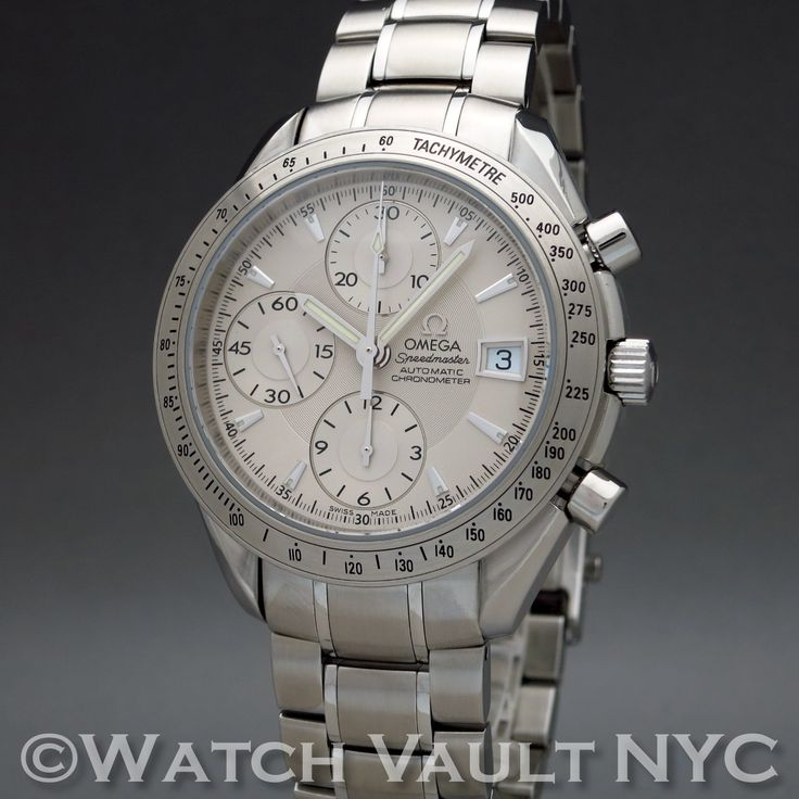 Omega Speedmaster Date Chronograph 3211.30 40mm Auto