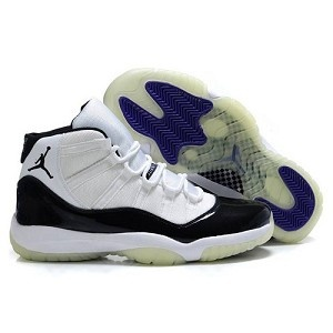 Looking for the cheapest product? Air Jordan Shoes 11 can satisfy you. Air Jordan Shoes 11 now sells like hot cakes because of its good quality and cheaper price. We provide the convenient and fast channels to make you own Air Jordan 11 Shox Light White Black which is one of the series of Air Jordan Shoes 11.