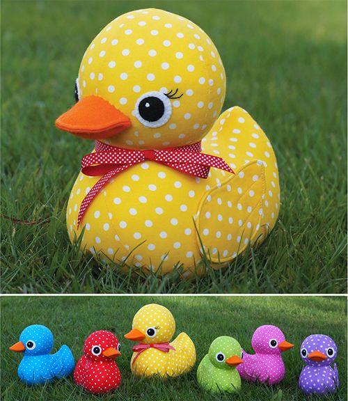 5 Little Ducks Softies