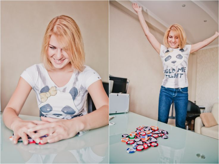 casino-themed party Poker Themed Engagement Poker photoshoot