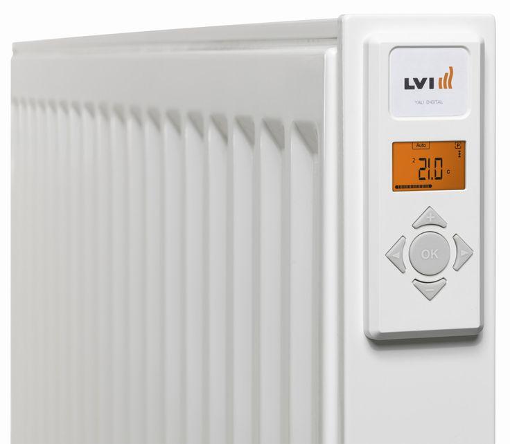 Yali Digital säätää lämpötilan erinomaisen tarkasti. Sähkölämmitin on ohjelmoitu tunnistamaan huoneen tuuletus. Lämpötilan laskiessa merkittävästi (30 minuutin kuluessa) laite automaattisesti kytkeytyy pois päältä.