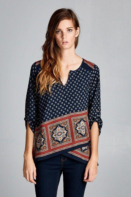 Cute top for fall fashion