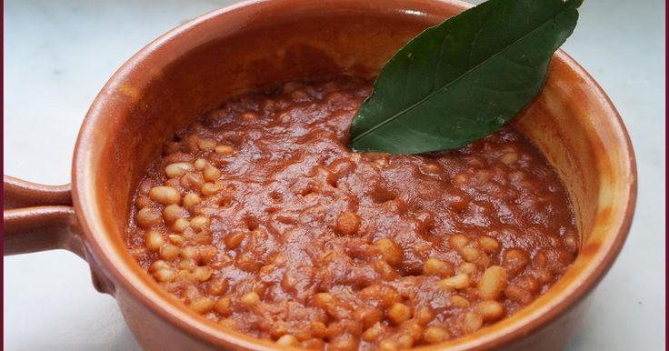 Zuppa di fagioli al vino e pomodoro - Ricette di non solo pasticci