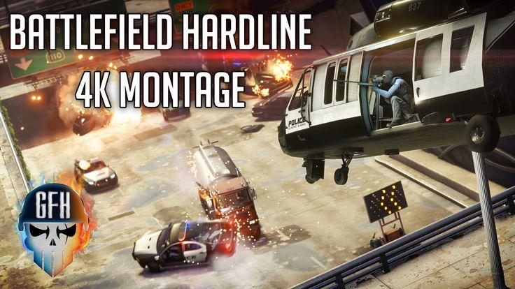 Battlefield Hardline 4K Montage - #ShareEveryWin
